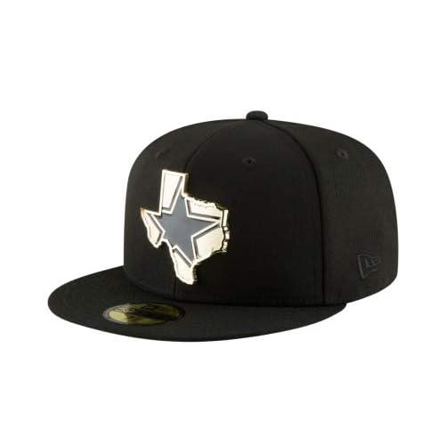 ec3d0c364abf6 Dallas Cowboys New Era Gold Stated 59Fifty Cap