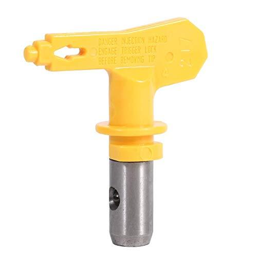 Boquilla de Pistola de Pulverización de Acero de Tungsteno Reversible, Punta de Pistola de Pintura Sin Aire, Boquilla de Pistola de Pintura Sin Aire, Para Accesorios Interiores Pulverizables(2