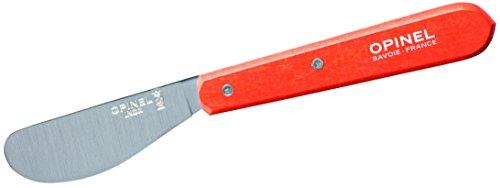 Opinel Aufstrichmesser Tafelmesser, Edelstahl, Mehrfarbig, One Size