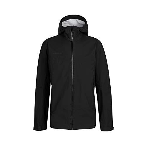 Mammut Herren Hardshell-jacke Albula Hooded, Schwarz (black), XL