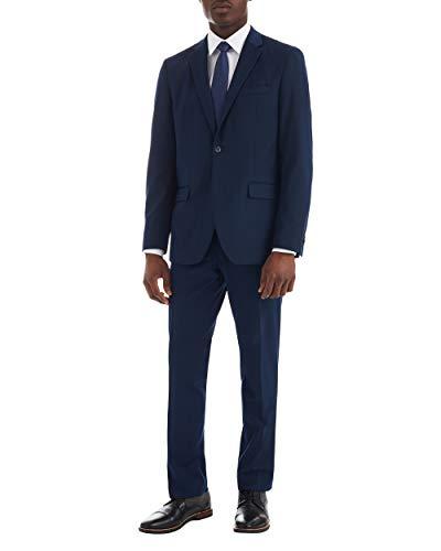 Ben Sherman Mens Modern Fit Suit Separate Pant, Blue, 48L