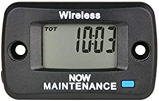 Runleader Digital Hour Meter,Vibration Operation,Multiple Maintenance Reminders,User Lock Shutdown for Lawn Mower Generator Marine ATV and Gas Powered Equipment