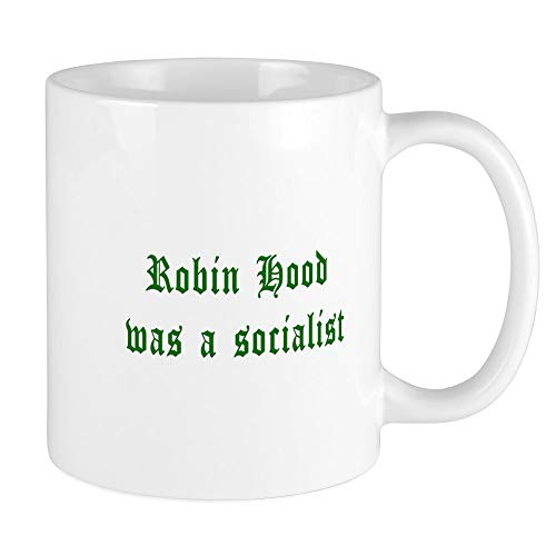 CafePress – Robin Hood was A Socialist Tasse – Einzigartige Kaffeetasse, Kaffeetasse, Teetasse