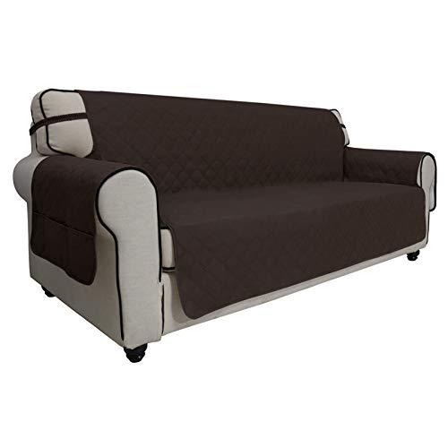 Easy-Going Funda para sofá 100% Impermeable, Protector de Muebles, Protector de sofá, Funda para Mascotas, Tela Entera, sin Costuras, Antideslizante, Tela para Mascotas, niños, Perros, Gatos