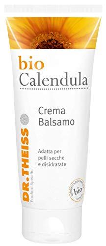 Crema calendula bio. Crema emolliente idratante. Calendula in alta concentrazione. Bio calendula crema balsamo Dr. Theiss 100ml