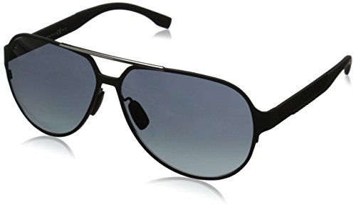 Hugo Boss Herren BOSS 0669/S HD HXJ 63 Sonnenbrille, Schwarz (Mttbk Carbon/Grey Sf)
