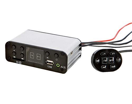 Eliga MP3-Radio für Sauna und Dampfbad, 859500
