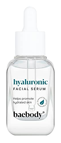 Baebody Hyaluronic Acid Serum for Face with Vitamin C and Vitamin E, Ultra Hydrating, Anti Aging, Moisturizes, Plumps Skin, and Reduces Wrinkles, 1 Oz