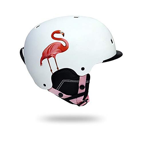 Skihelm, heren en dames helmen met verwijderbare vizieren tiener skate helm voor outdoor sport sudaijins