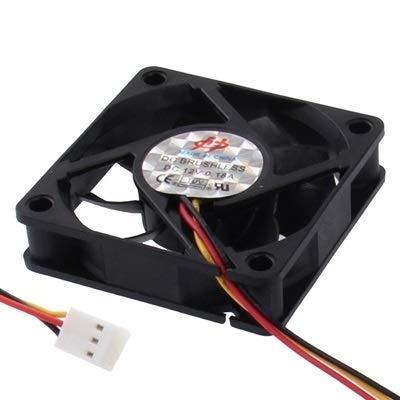 Accesorios de computadora Ventilador de enfriamiento de 60 mm y 3 Clavijas Refrigeración por Ventilador