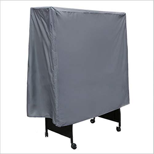 DONGZHI Durable Mesa Tenis Cubrir Silbido Apestar Impermeable Protector Respirable Oxford Tela para Interior y Al Aire Libre (Color : Gray, Size : 152x52x144cm)