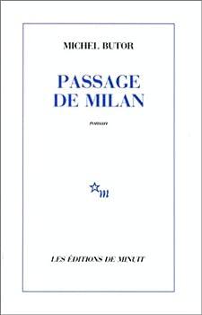 Passage de Milan 2707301981 Book Cover