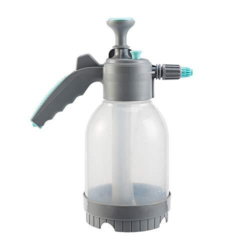 Botella de Spray, 2 Paquete de jardinería 2 litros Manual de presión pulverizador de Botella for regar Las Plantas Fácil de Lavar y Reutilizable. (Color : Gray, Size : 2L)