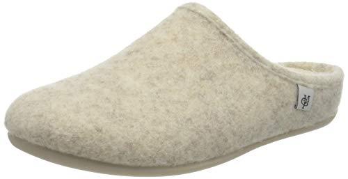 Marc O'Polo 916089301619, Pantofole Donna, 110 Bianco Sporco, 37 EU