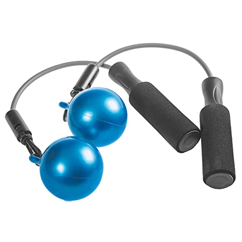 METAL BOXE Corda a Saltare Ball Jump Unisex Adulto, Blu, L