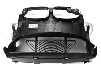 BMW e46 COUPE (2 dr) conducto de aire de admisión del radiador central delantero y rejilla del ventilador delantero serie 3
