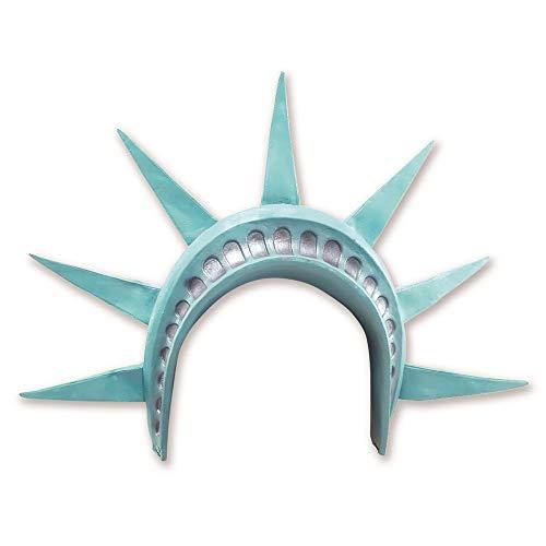 Bristol Novelty - Diadema para disfraz de la Estatua de la Libertad (Tamaño Único) (Verde)