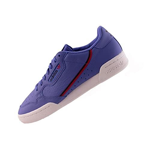 adidas Continental 80 Homme Baskets décontracté Sport - Lilas - 41 1/3