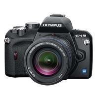 Olympus E-410 SLR-Digitalkamera (10 Megapixel, LifeView) Kit inkl. EZ1442