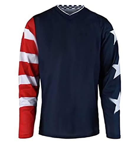 Camiseta de ciclismo de montaña especializada, sudadera Downhill Jersey para bicicleta bicicleta bicicleta Downhill Jersey moto de motocross Imagen XXL