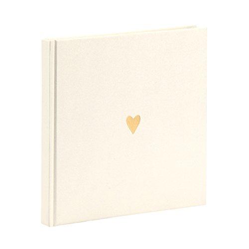 Rössler Papier - Serie Pure Love, Brilliant - gebundenes, quadratisches Buch