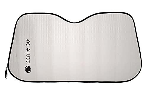 Contrejour 463604 - Parasol para Cristal Delantero, Aluminio, Aislante, M