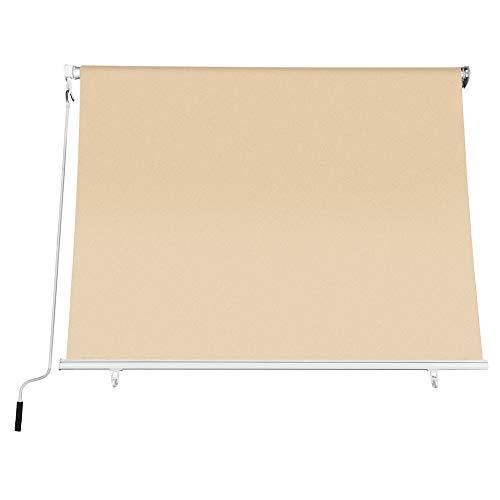 FRASCHETTI Tenda da Sole a Caduta Misure 300x250H cm Colore Beige - Tessuto 280gr/mq