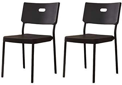 Elegante silla oficina, silla giratoria Silla de comedor moderna   Sillas de escritorio para oficina  Silla de salón minimalista   Silla pequeña de la habitación de dormitorio del estudiante, negro