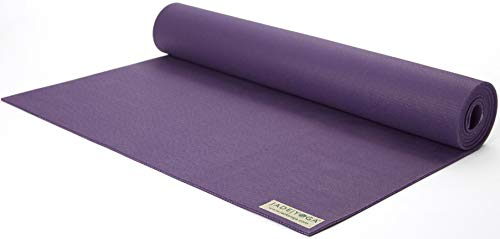 Jade Harmony Professional Travel Yoga Mat - Standard & Long Sizes (Purple, Long 74) by JadeYoga