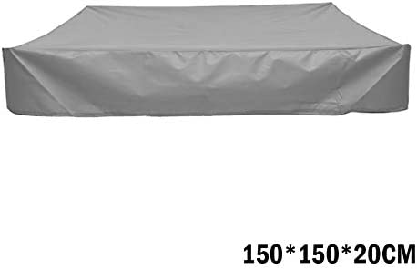 Protective Waterproof Dustproof Square Cover VELIHOME Sandbox Cover Universal Outdoor Sandbox Cover for Four Season
