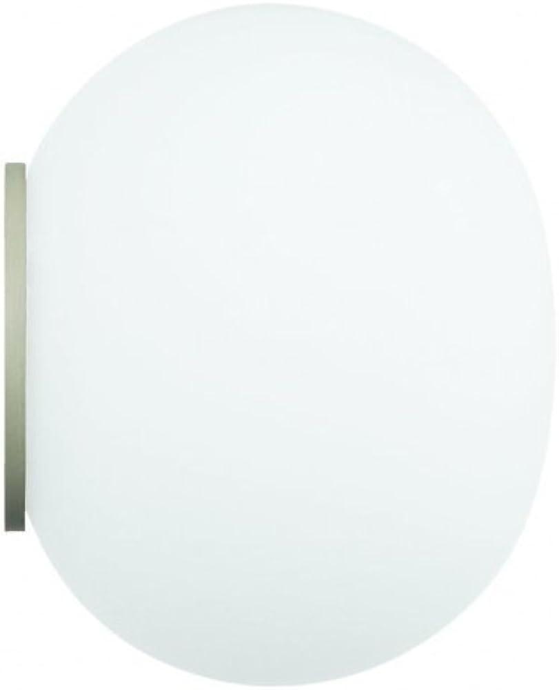 Flos mini glo-ball c/w eu-sa bco, vetro F4190009