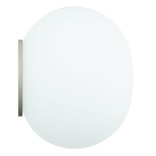 Flos Mini GLO-Ball C/W EU-SA BCO Verre Blanc 11,2 x 8,5 cm