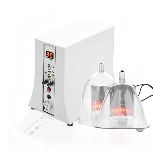 Beauty machine con massaggio di aumento del seno, modellamento del corpo elettrico massaggio della macchina per il vuoto massaggio di coppettazione con ventose(EU)