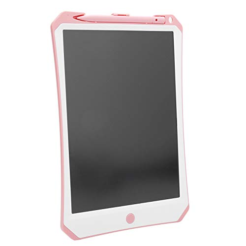 Lazmin112 Tableta de Escritura LCD, Tableta de Escritura LCD de 11 Pulgadas Tablero gráfico electrónico Tableros de Notas Dibujo para niños Juguetes de Escritura Bloc de Escritura electrónico(Rosa)