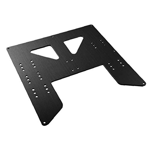 NaiCasy 3D Printing Accessories Z Axis Support Aluminum Plate for Heating Bed Compatible with Anet A8 A6 Printer