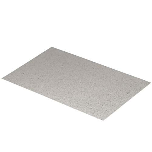 vhbw Disque de mica Plaque de mica 20,3 x 12,7cm pour micro-ondes, par ex. AEG, Bosch, Galanz, Siemens, LG, Neff