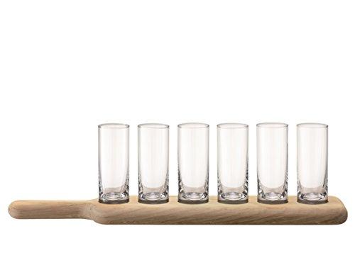 LSA International 40 cm Ensemble de Vodka et de chêne à aubes