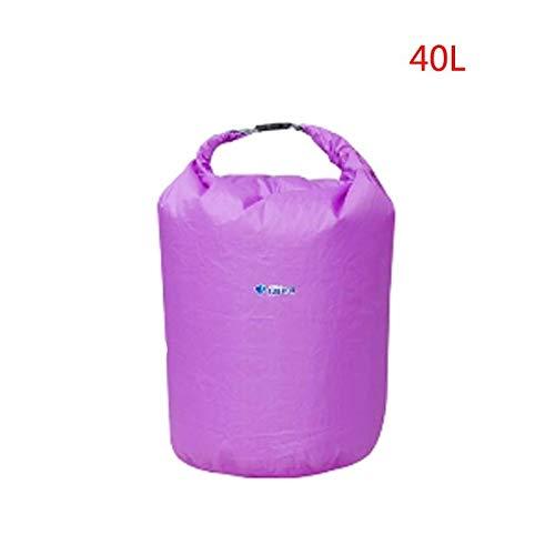 CGMZN rugzak BLUEFIELD Waterdichte Dry Bag 20/40/70L Dry Sack Outdoor Water Bag Camping Klimmen Rafting Zwemtas Kayak Opslag Travel Kit