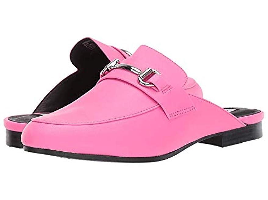 鏡累積報告書レディースローファー?靴 Kandi Slip-On Mule Pink Neon (23cm) M [並行輸入品]