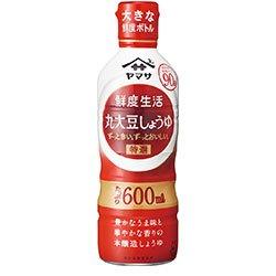鮮度生活 特選丸大豆しょうゆ 600ml 12本