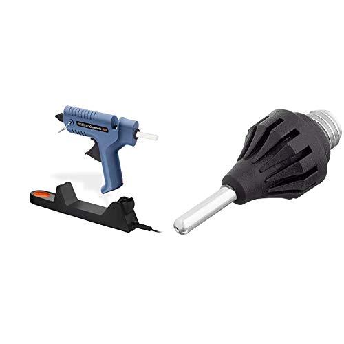 Steinel Heißklebe-Pistole Gluematic 5000, Ladestation, Abtropfschale, kabellos, inkl. 5 Klebesticks 11 mm und 2 Düsen & Feindüse 1.0 mm, als Zubehör für Heißklebepistole Gluematic 3002 und 5000