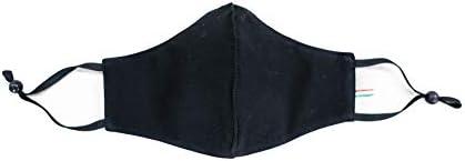 Mascherina Lavabile Regolabile (nero)