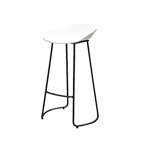 Idong metalen barkruk bar kruk hoogte zonder rugleuning industrie Indoor Outdoor keuken stoel Casual Designerstoel Idong 65*40cm Wit