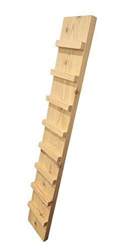 Ruhti - Hühnerleiter - Kaninchen Leiter - Kleintier - Holzrampe - Treppe (100 cm)