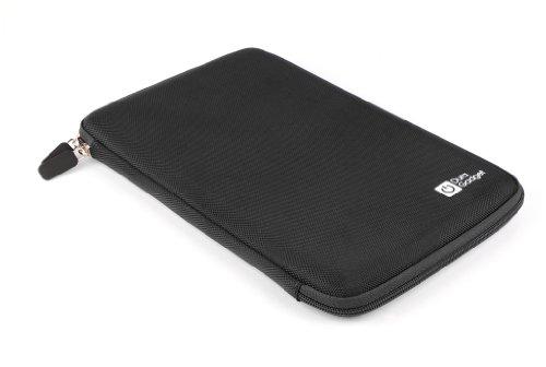 DURAGADGET Funda Rígida Negra para Tablet SPC Glow 10, SPC Glee 10.1 Quad Core - con Bolsillo De Red En El Interior