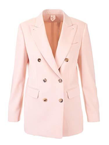 Luxury Fashion | Max Mara Dames MENTANA10383010 Roze Elasthaan Blazers | Herfst-winter 19
