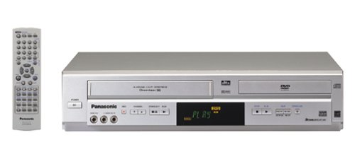Best Review Of Remanufactured Panasonic PV-D4744S Progressive Scan DVD/VCR Combo (Silver)
