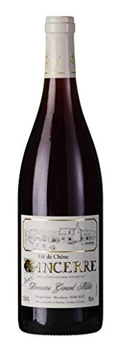 Sancerre Rouge Pinot Noir AOC 2016 Gérard Millet, trockener Rotwein von der Loire