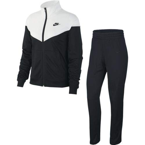 Nike W NSW TRK SUIT Pk Survêtement Femme Black/White/(Black)