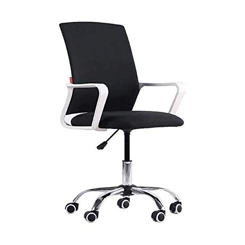 DJDLLZY Silla de brazo giratorio, silla de descanso, silla de estudiante, silla de personal, silla de dormitorio, silla de hotel, silla giratoria para el hogar, silla de oficina acolchada